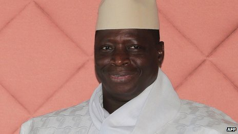 Mr Jammeh said Gambia would remain a friend of Taiwan's people