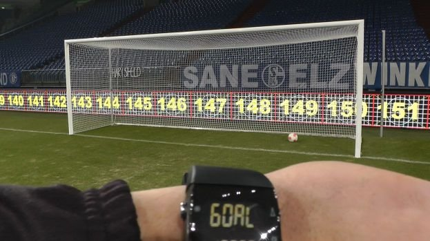 GoalControl's Goal Line Technology