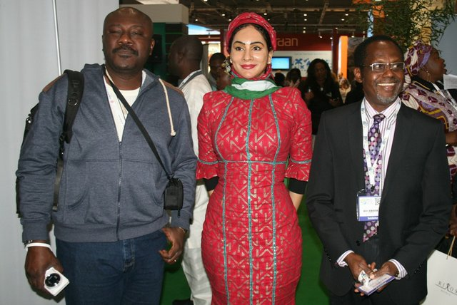 From Left to Right: Director General, Rivers  State Tourism Board - Mr. Sam Dede; Mrs. Sally Mbanefo; and Managing Director,  Hotel Rosebud, Tomi Akingbogun.