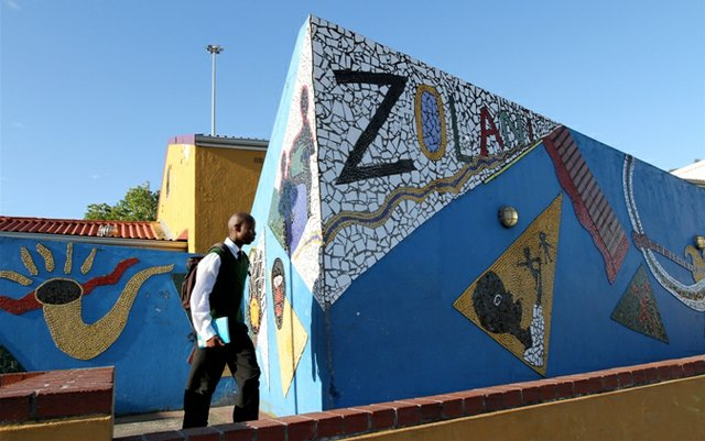 The IkamvaYouth branch at Zolani centre in Nyanga, a poor and marginalised township in Cape Town
