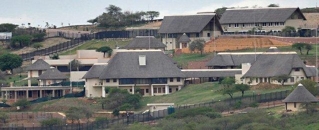 Zuma's private residence