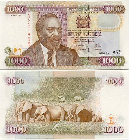 Kenya Bank Notes