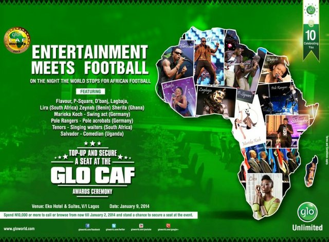 Glo-CAF Awards Gala 2014