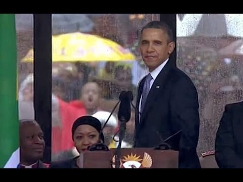 Obama: Thank you for sharing Mandela with the world