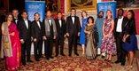Stars Impact Award Winners at Kensington Palace.