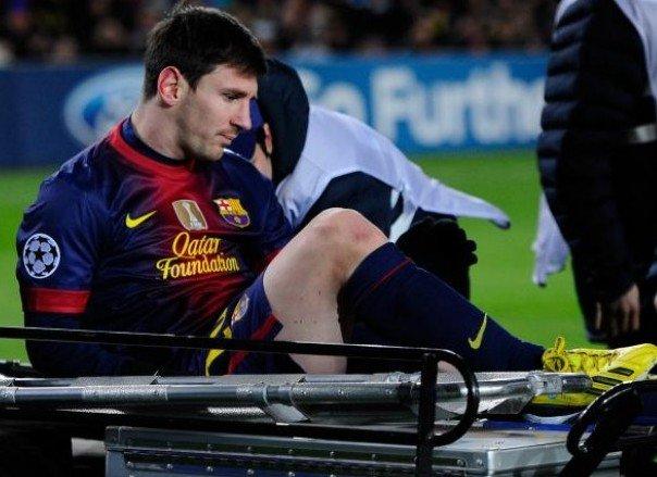 Lionel Messi - injured