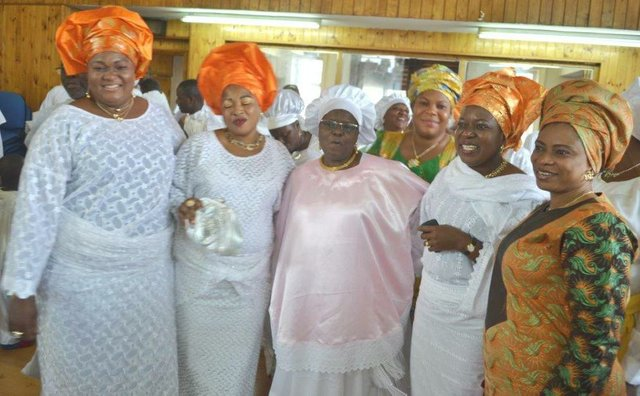 Princess Adenuga and some of her friends