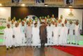 President Jonathan hosts the Super Eagles at State House Abuja