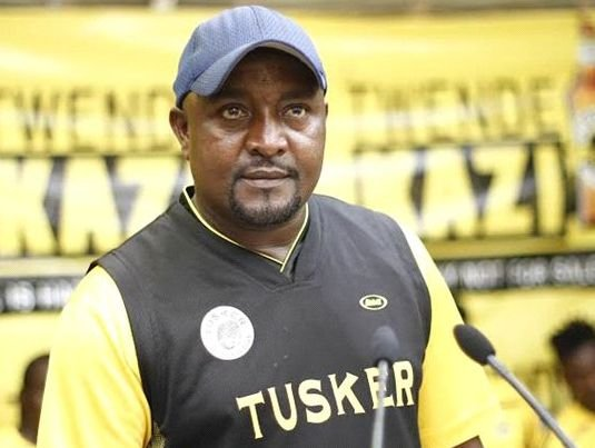 Tusker Coach - Francis Kimanzi