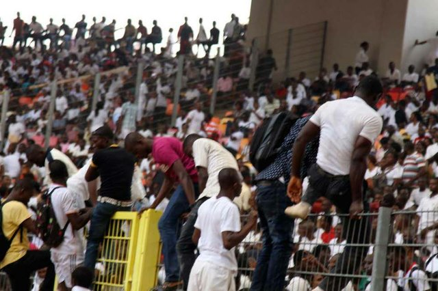 Tragic scenes from the Nigerian Immigration Service recruitment