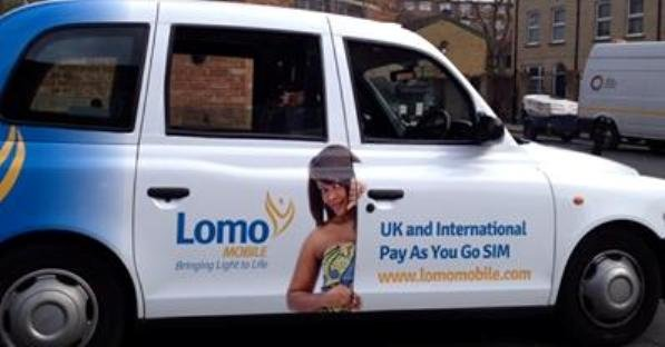 Lomo Taxi Advertising campaign
