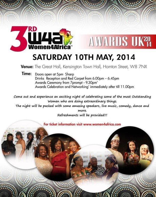 Women4Africa flyer