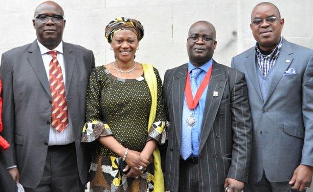 Senator Babafemi Ojudu; Senator Oluremi Tinubu; Councillor Adedamola Aminu; Senator Gbenga Ashafa