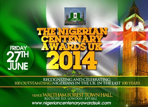 Nigerian Centenary Awards UK