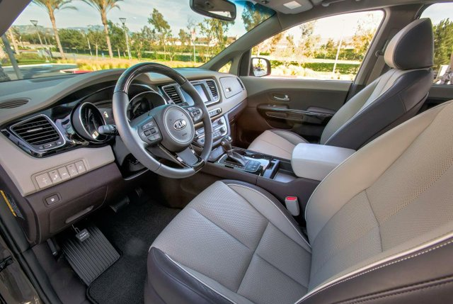 The new Sedona boasts of a premium ambiance
