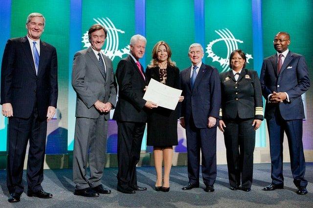 GBC Health Board of Directors with Bill Clinton
