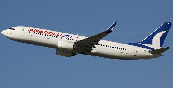 Failed attempt to hijack Anadolu Jet aircraft