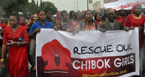 Bring Back our Girls protest in Abuja on Wednesday 30 April 2014