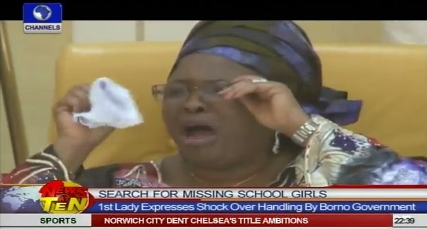 Patience Jonathan breaks down in tears