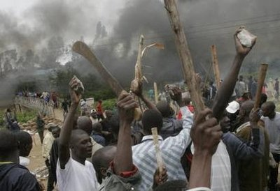 Locals figting against Boko Haram