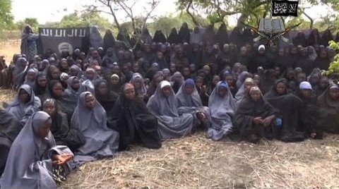 Boko Haram shows off missing girls in video