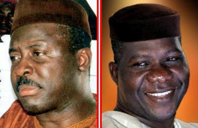 Niyi Adebayo (left) and Opeyemi Bamidele (right)