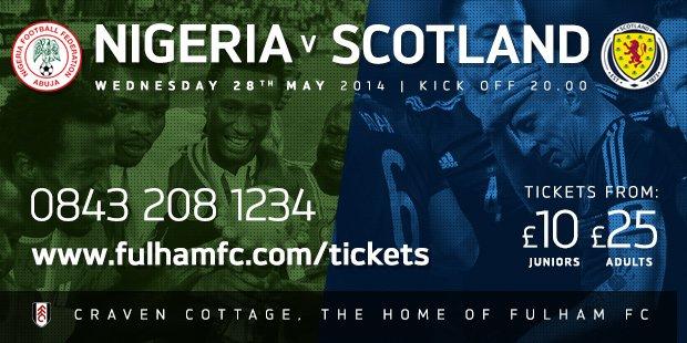 Nigeria v Scotland