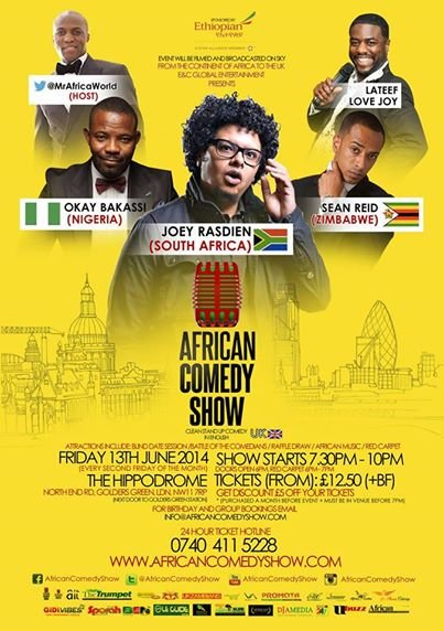 African Comedy Show - June 2014