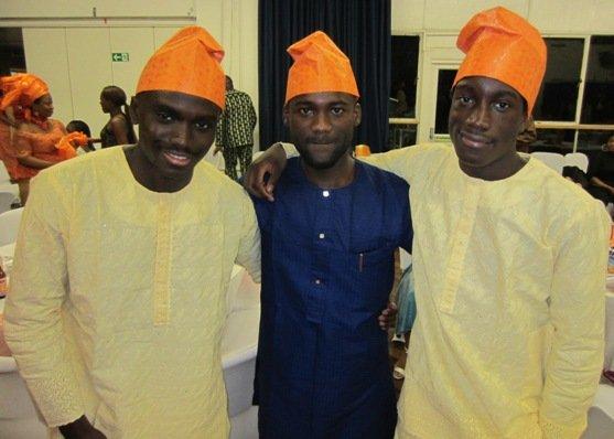 (L to R) Adeiza,Kebe and Omeiza