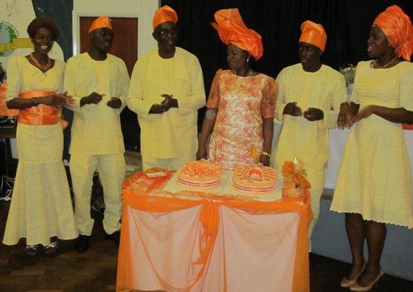 Family Photo (L to R) Elizabeth, Adeiza, Michael, Martha, Omeiza and Lois (The Harunas)