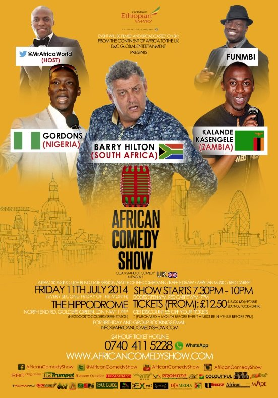 African Comedy Show - July 2014