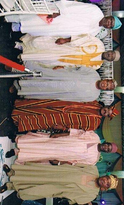 Mr. Olayinka Aje, Amb. Ahmed Umar - Nigeria's Consul-General in Jeddah, Prof. Toyin Ashiru, Amb. O.K. Lawal, Amb. Sanni Bala - retired Permanent Secretary, Otunba Bimbo Ashiru - Ogun State Commissioner of Commerce and Industry
