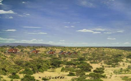 Mahali Mzuri - Virgin's Safari camp in Kenya
