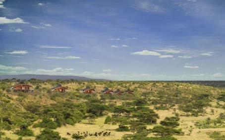 Mahali Mzuri - Virgin's Safari camp in Kenya