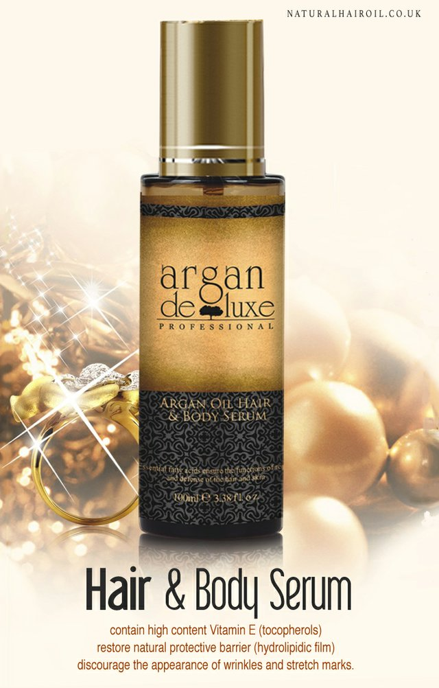 Argan Oil Hair & Body Serum