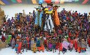 A colourful display at the AFCON Opening Ceremony