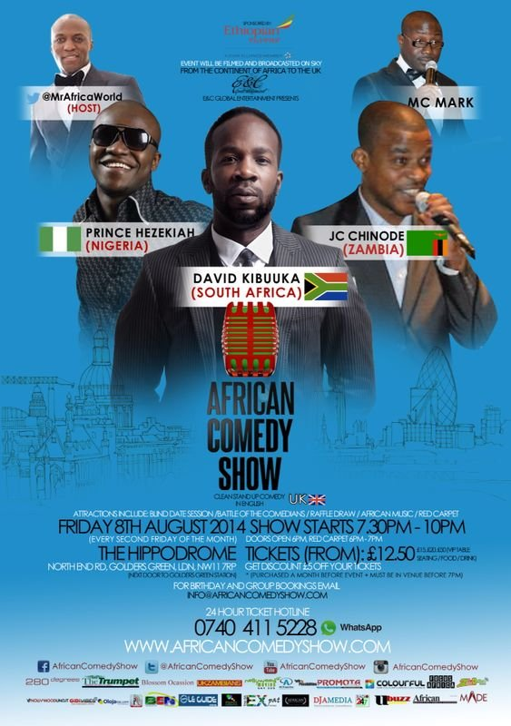 African Comedy Show - August 2014