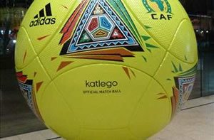The official AFCON ball