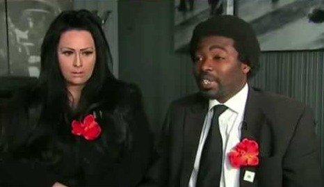 Nicole Lawler and Kye Gbangbola