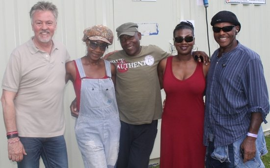 Paul Young, Maizie Williams,  Real Thing, Sam Scott & Real Thing