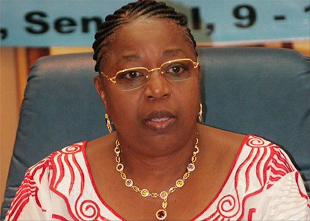 Senegal's Health Minister - Dr Awa Coll-Seck