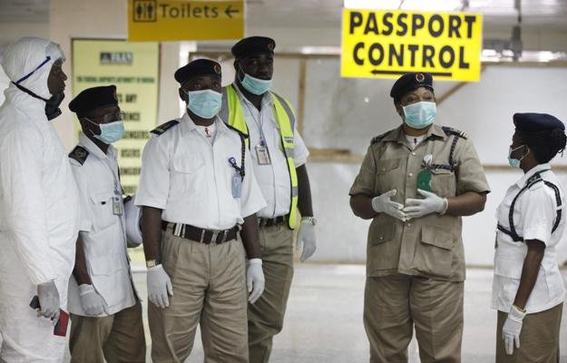 Screenings were conducted at the Airport in Nigeria to curb spread of Ebola virus