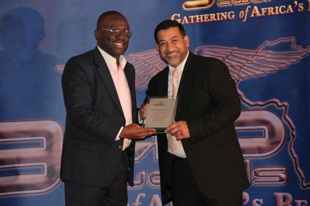 GAB Awards winner - Opeyemi Agbaje poses with  Peter Mudalhy - CEO of Pak Cosmetics.jpg