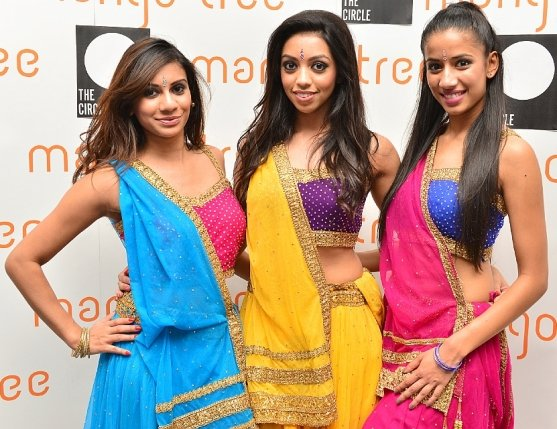 Nileeka Gunawardene and her dancers performed an amazing Bollywood routine for the guests b
