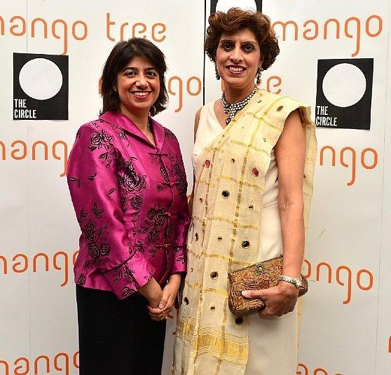 Seema Malhotra MP with Santosh Bhanot