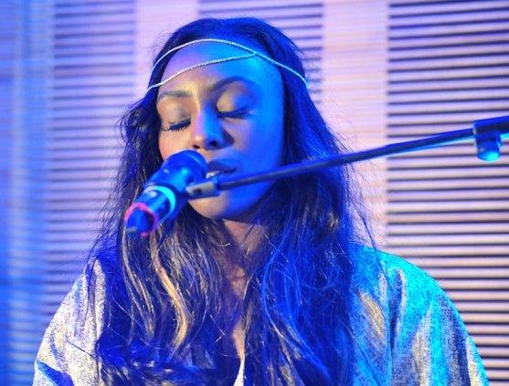 Laura Mvula performing at The Circle Presents @ The Mango Tree