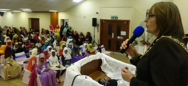 Lord Mayor of Coventry visits Tanzanian community