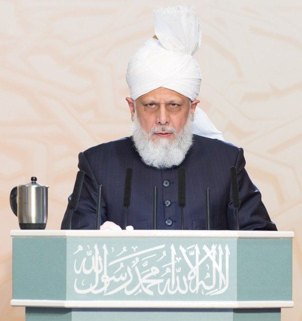 His Holiness Hazrat Mirza Masroor Ahmad, the Caliph of the Worldwide Ahmadiyya Muslim Community