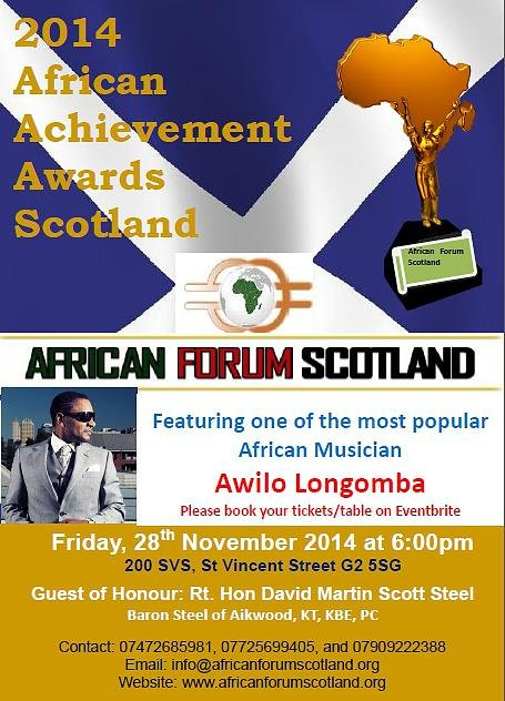 African Forum Scotland Awards