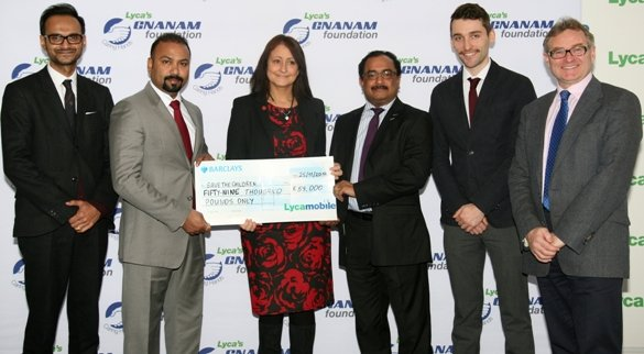 Lyca's Gnanam Foundation donates £59k to fight Ebola